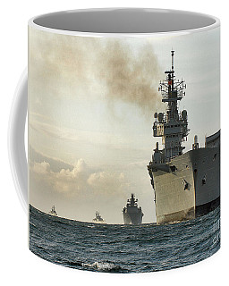 Hms Ark Royal  Coffee Mug by Paul Fearn