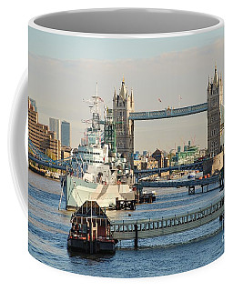 Hms Belfast London Coffee Mug
