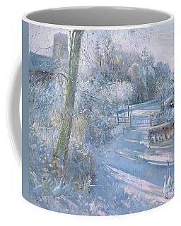 Hoar Frost Morning Coffee Mug