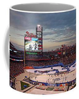 Hockey At The Ballpark Coffee Mug