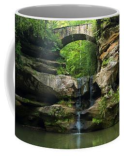 Hocking Hills Waterfall 1 Coffee Mug