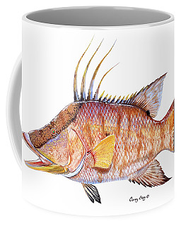 Hog Fish Coffee Mug