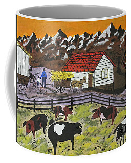Hog Heaven Farm Coffee Mug by Jeffrey Koss