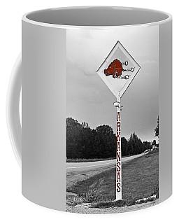 Hog Sign - Selective Color Coffee Mug
