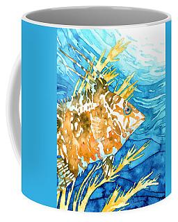 Hogfish Portrait Coffee Mug