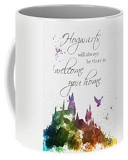 Hogwarts Will Welcome You Home Coffee Mug