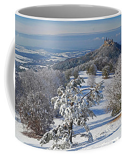 Coffee Mug featuring the photograph Hohenzollern Castle 2 by Rudi Prott