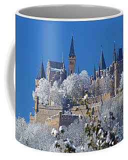 Coffee Mug featuring the photograph Hohenzollern Castle Germany by Rudi Prott