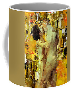 Hold Me Tight Coffee Mug by Kurt Van Wagner