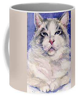 Holding Court Coffee Mug by Judith Levins