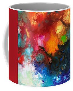 Holding The High Watch Canvas Three Coffee Mug