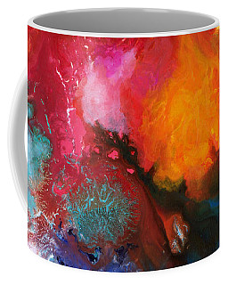Holding The High Watch Canvas Three Coffee Mug