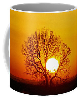 Holding The Sun Coffee Mug by Steven Reed