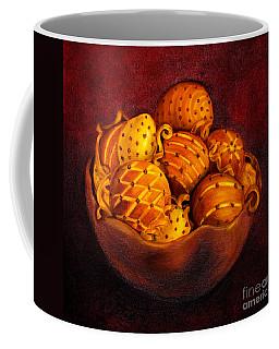 Holiday Citrus Bowl  Coffee Mug