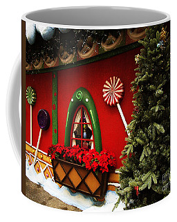 Holiday Cottage Coffee Mug by Anne Rodkin