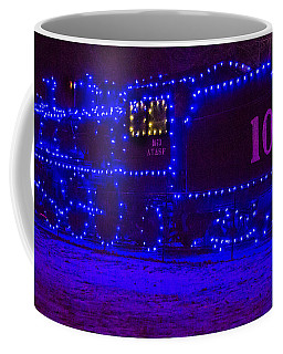 Holiday Express Train Coffee Mug by Steven Bateson