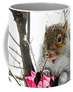 Coffee Mug featuring the photograph Holiday Joy by Mike Breau