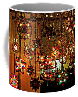 Coffee Mug featuring the photograph Holiday Lights by Suzanne Stout