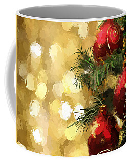 Holiday Ornaments Coffee Mug by Anthony Fishburne