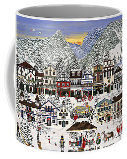 Holiday Village Coffee Mug