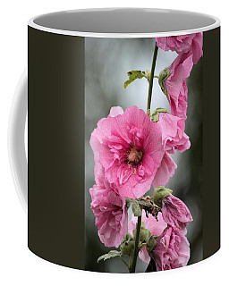 Hollyhock Coffee Mug