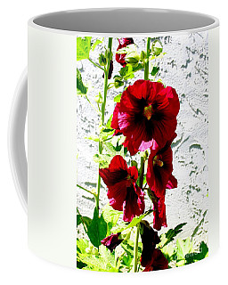 Hollyhock Is Hollyhock Coffee Mug