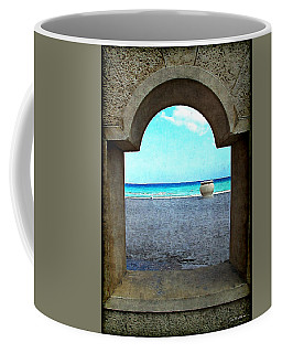 Hollywood Beach Arch Coffee Mug by Joan  Minchak