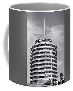 Hollywood Landmarks - Capital Records Coffee Mug by Art Block Collections