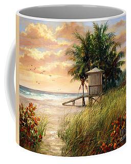 Hollywood Life Guard Hut Coffee Mug