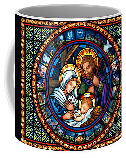 Holy Family Christmas Story Coffee Mug
