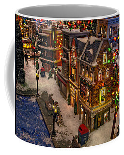 Coffee Mug featuring the photograph Home For The Holidays by GJ Blackman