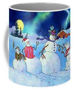 Home For The Holidays Coffee Mug by Teresa Ascone