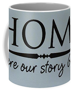Coffee Mug featuring the photograph Home by Jeannie Rhode