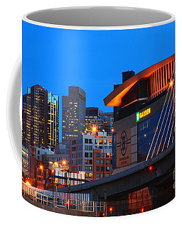 Home Of The Celtics And Bruins Coffee Mug