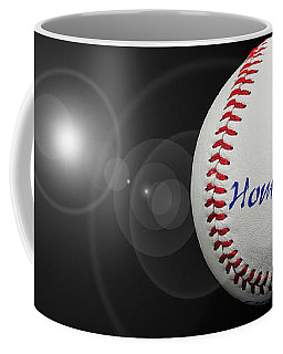 Home Run - Baseball - Sport - Night Game - Panorama Coffee Mug