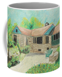 Coffee Mug featuring the painting Home Sweet Home by Jeanne Fischer