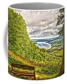 Coffee Mug featuring the photograph Honeoye Lake Overlook by William Norton