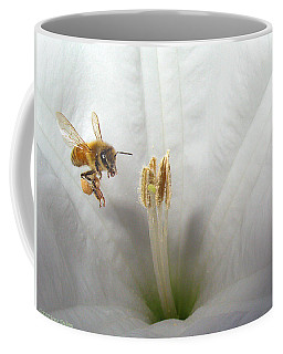 Honey Bee Up Close And Personal Coffee Mug