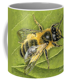 Honeybee On Leaf Coffee Mug