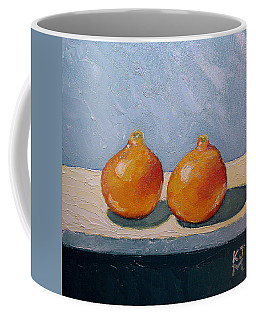 Coffee Mug featuring the painting Honeybells - The Perfect Couple by Katherine Miller