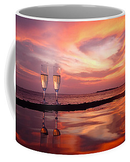 Honeymoon - A Heart In The Sky Coffee Mug