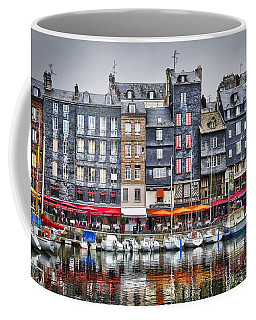 Honfleur Coffee Mug by Delphimages Photo Creations
