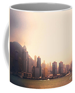 Hong Kong Harbour Sunset Coffee Mug