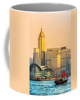 Hong Kong. Coffee Mug by Luciano Mortula