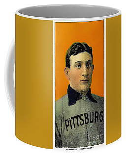 Honus Wagner Baseball Card 0838 Coffee Mug