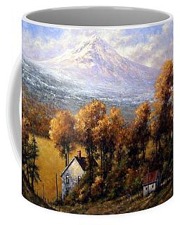 Hood At Late Afternoon Coffee Mug