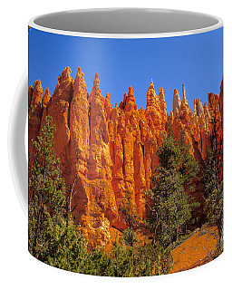 Hoodoos Along The Trail Coffee Mug