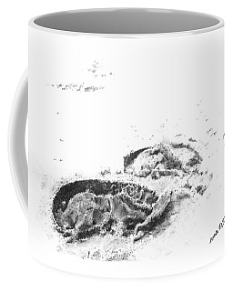 Hoof Prints Coffee Mug
