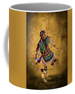 Hooping His Heart Out Coffee Mug by Priscilla Burgers