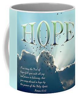Coffee Mug featuring the photograph Hope by Carolyn Marshall
